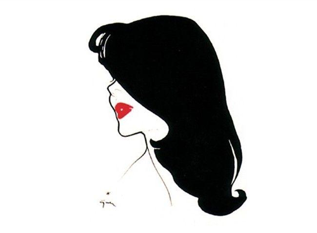 René Gruau per Rouge Baiser Paris - Style.it