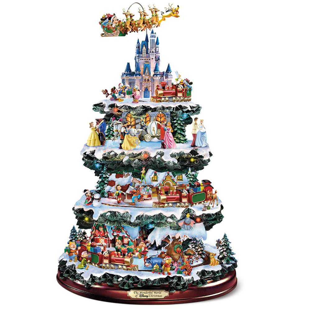 The Disney Christmas Carousel Tree   Disney christmas