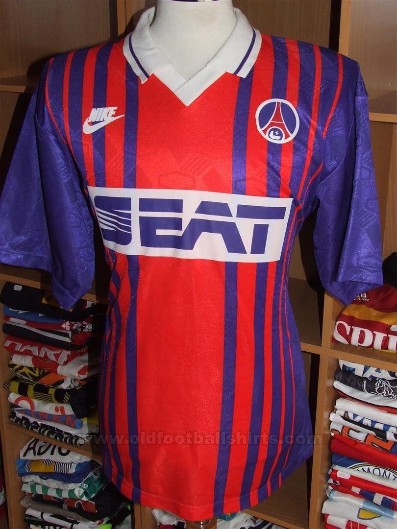 sale retailer 51544 f76a0 Paris Saint-Germain football shirt 1993 - 1994 | PSG gallery ...