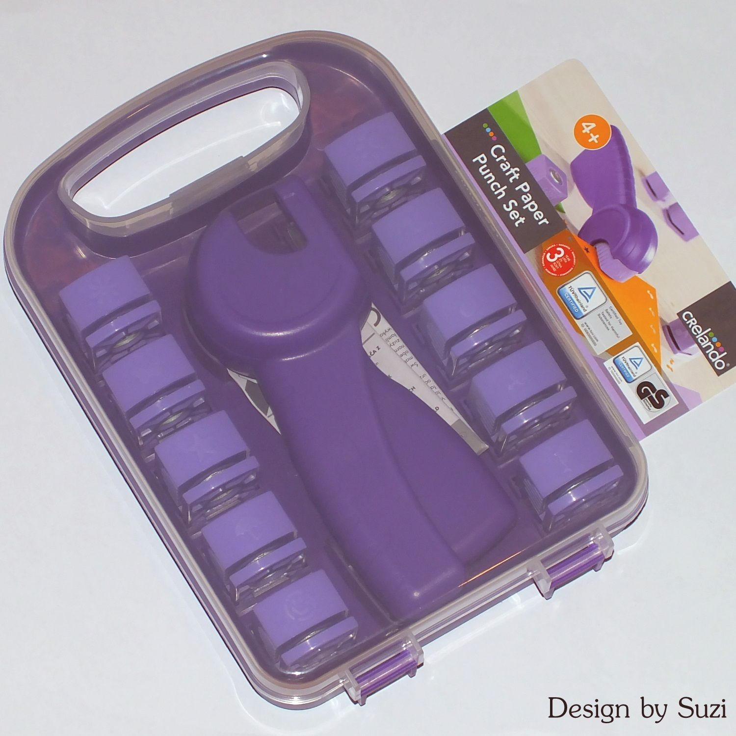 Crelando Craft Paper Punch Set