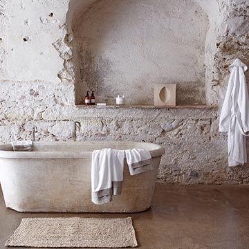 Cómo conseguir un baño de estilo rústico