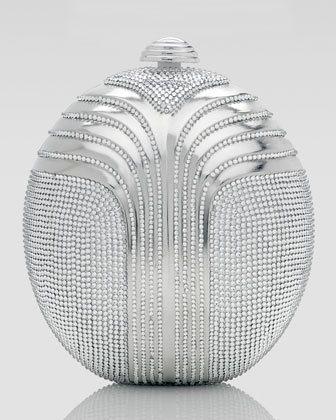 Judith Leiber Deco Oval Clutch Bag       $3,995.00