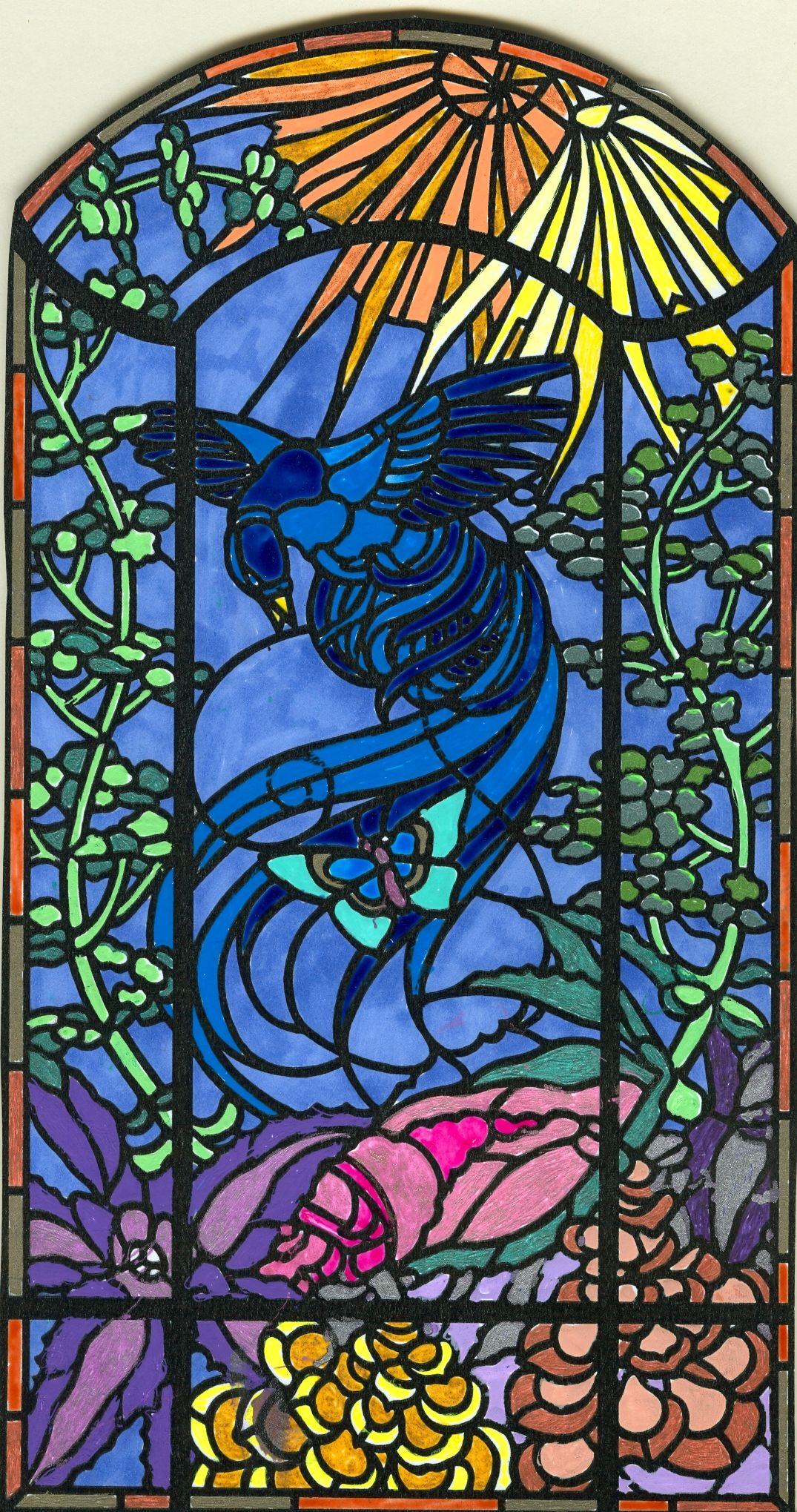 Verre Clair Saint Maximin art-nouveau stained glass | art décoratif, vitrail, art