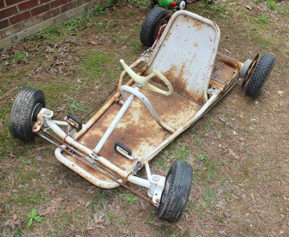 Vintage 1960 61 Sears 300 Dual Motor Live Axle Racing Go Kart Power Products Go Kart Go Kart Frame Racing Go Kart Frame