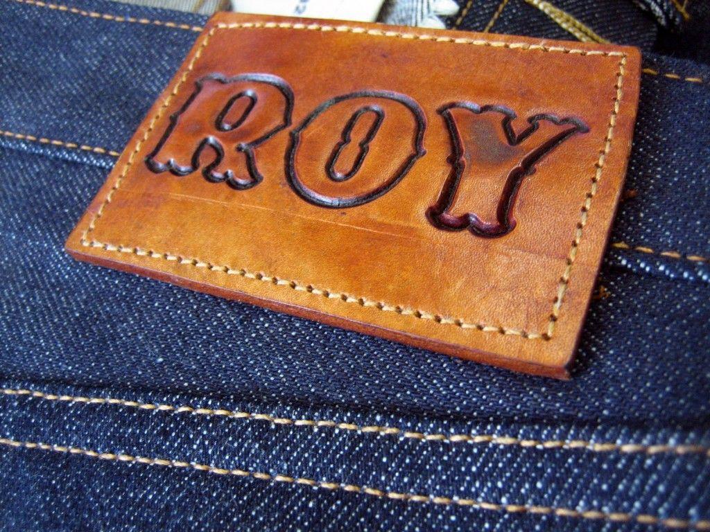 Roy denim, cone mills selvedge