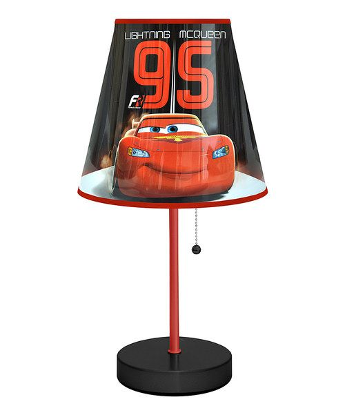 Look at this '95' Cars Table Lamp on #zulily today!