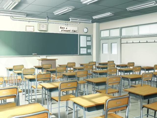 Classroom Design Tumblr ~ Anime classroom typical places pinterest