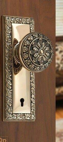 A Fancy Door Knob