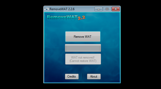 Windows 7 build 7601 wat remover download.