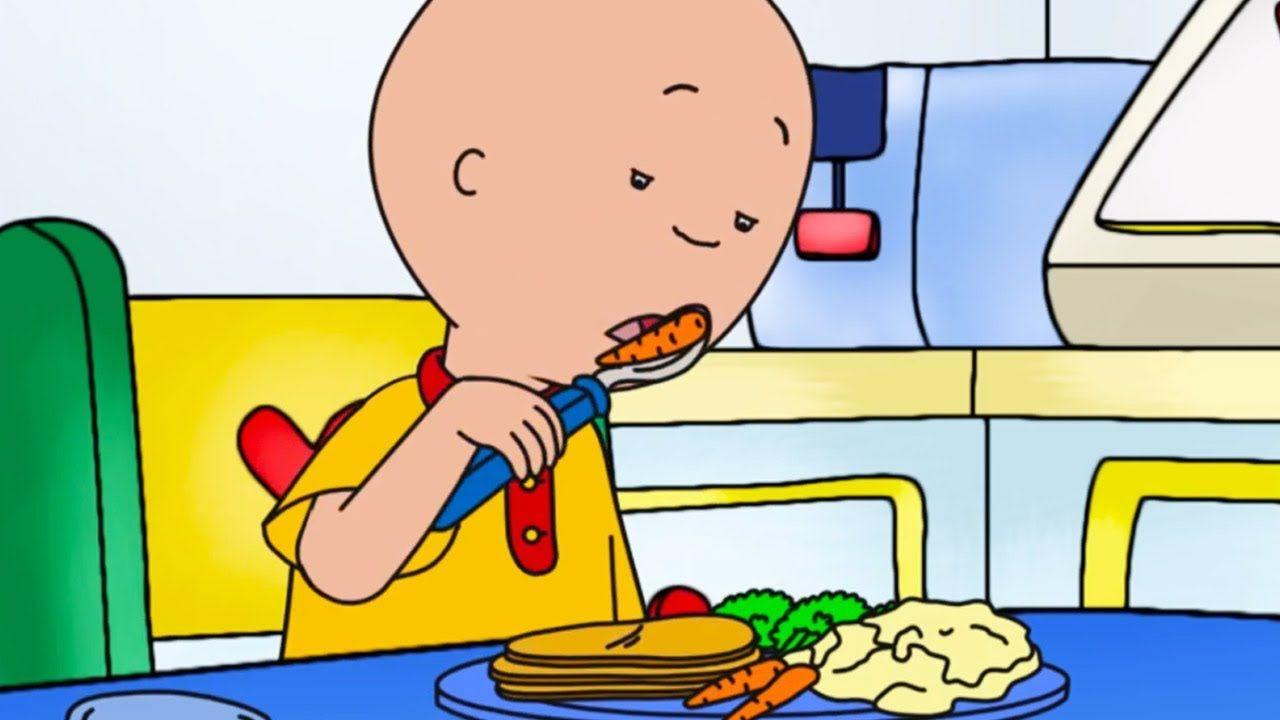 Caillou English Full Episodes Caillou Hates Healthy Food Cartoon Movie Cartoons For Kids Https Www Youtube Com Watc Caillou Food Cartoon Cartoon Movies