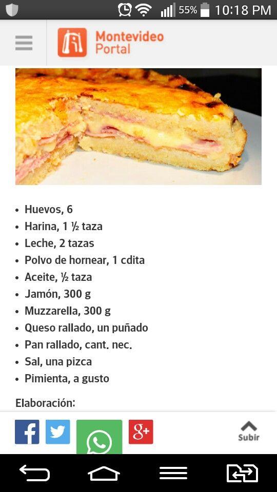 torta fiambre