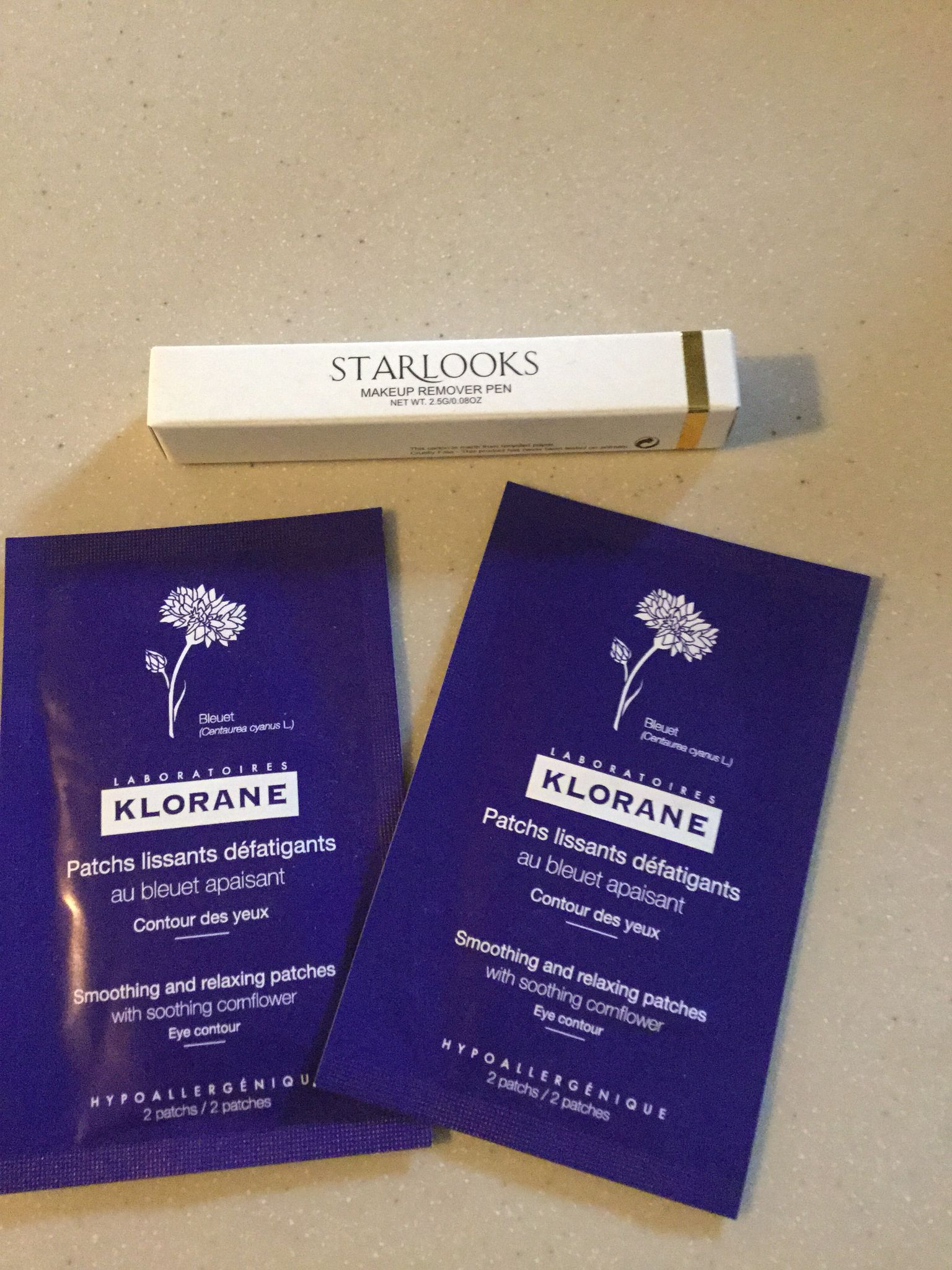 Klorane Patches and Starlooks Makeup remover pen Makeup