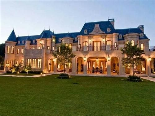 93 Awesome Big Rich Houses