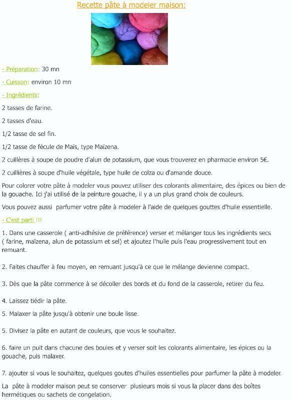 Comment Faire De La Pate A Modeler Maison Sans Alun - Ventana Blog
