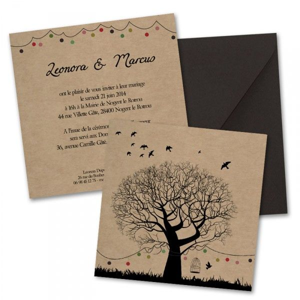1000 images about faire part mariage on pinterest vintage handkerchiefs liberty and rustic wedding invitations - Faires Parts Mariage