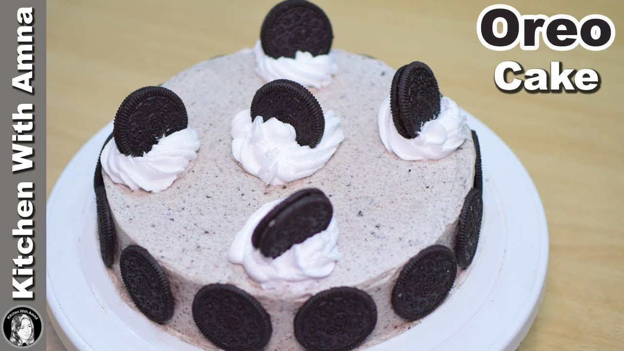 Oreo Cake Recipe Without Oven Eid Special Cake Recipes Kitchen