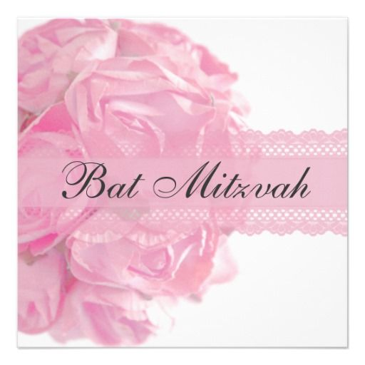 >>>Best          	Pink Roses and Lace Bat Mitzvah Invitation           	Pink Roses and Lace Bat Mitzvah Invitation so please read the important details before your purchasing anyway here is the best buyReview          	Pink Roses and Lace Bat Mitzvah Invitation please follow the link to see fu...Cleck Hot Deals >>> http://www.zazzle.com/pink_roses_and_lace_bat_mitzvah_invitation-161052481334711760?rf=238627982471231924&zbar=1&tc=terrest