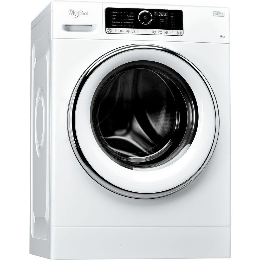 Lave Linge Hublot Posable Whirlpool 8 Kg Fscr 80421  ~ Electrodomesticos El Corte Ingles Lavadoras