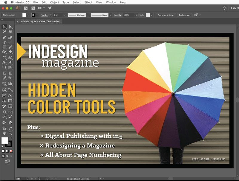 How To View An Indesign Layout As It Would Appear To Someone With Color Blindness By Exporting To Pdf And Viewing In Ill Indesign Layout Indesign Hidden Colors