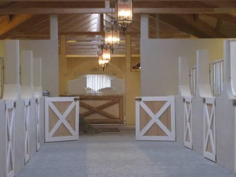Light and bright stables #stables