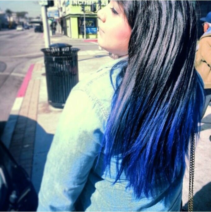 Manic Panic Shocking Blue With Images Hair Inspiration Hair