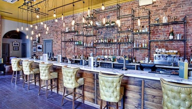 Contemporary Restaurant And Pub Decor By Designs