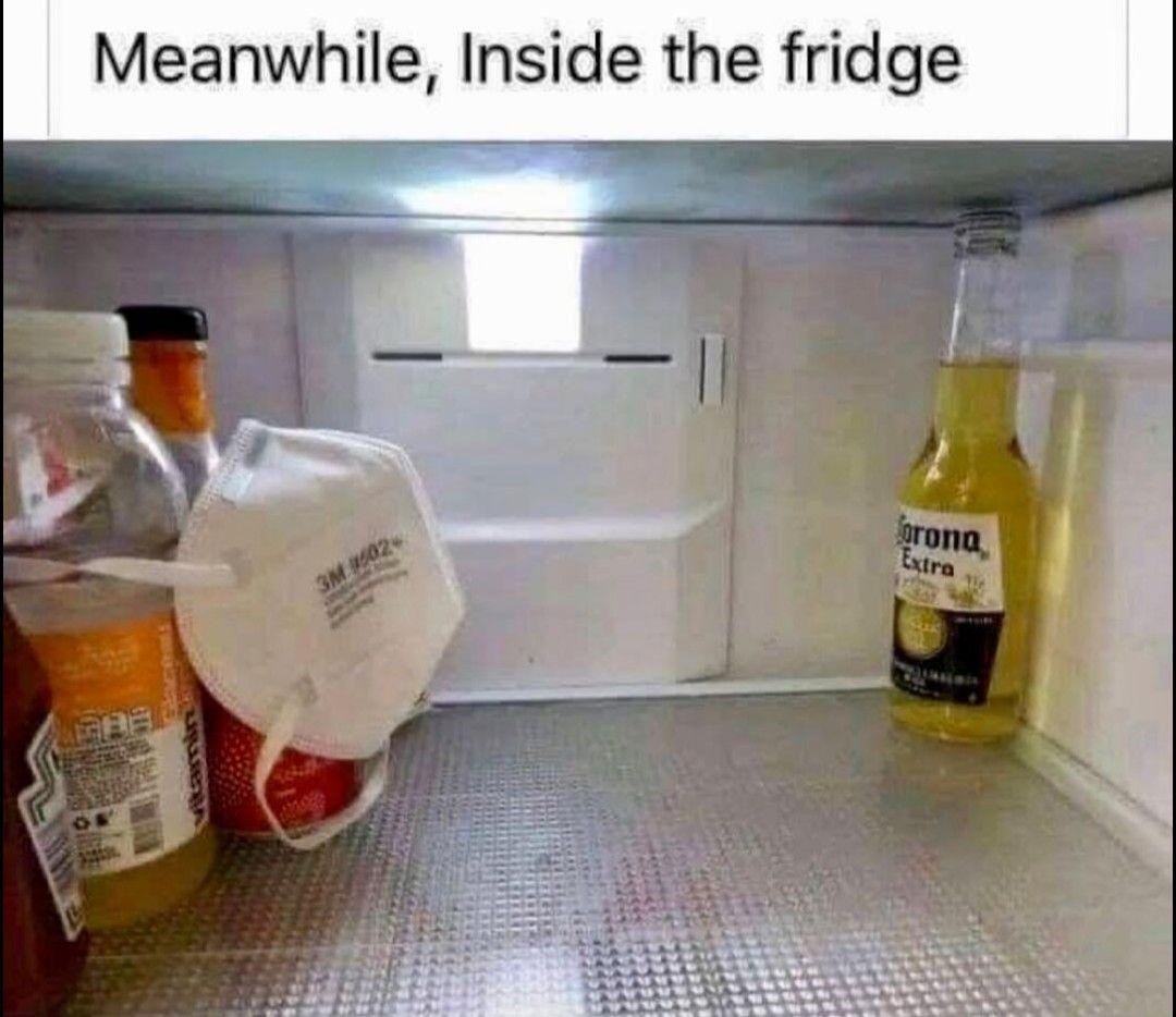 Meanwhile Inside The Fridge Corona Beer Super Funny Memes Haha Funny Crazy Funny Memes