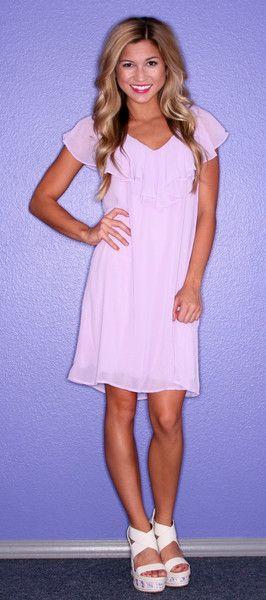 cute lavender dress