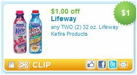 picture about Lifeway Coupon Printable called $1/2 Lifeway Kefir Printable Coupon mothering Printable