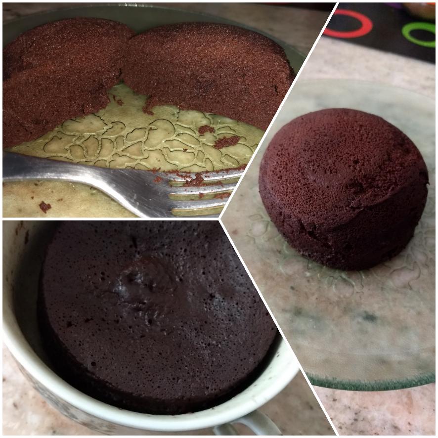 Mug cake súper sano ultra light DMA f2 #cocinarapidayfacil #mugcake