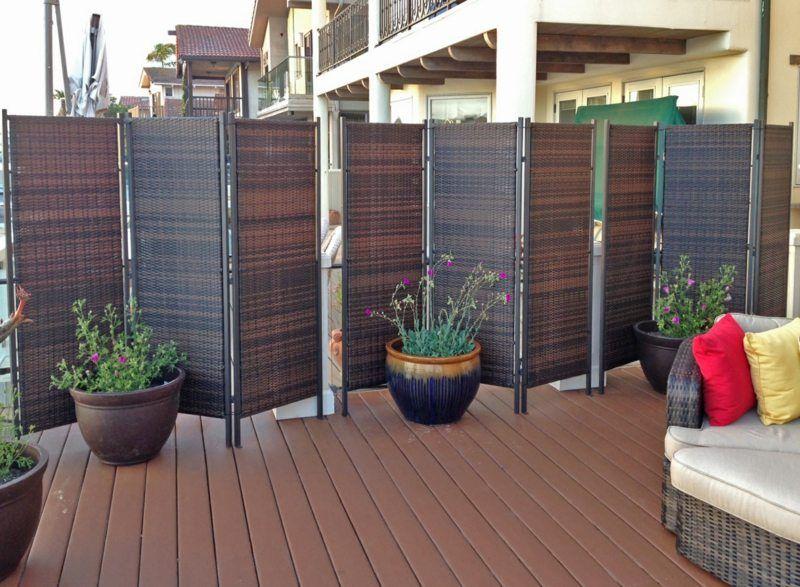 18 Tipps zum Sichtschutz im Garten - Schaffen Sie mehr Privatsphäre ...