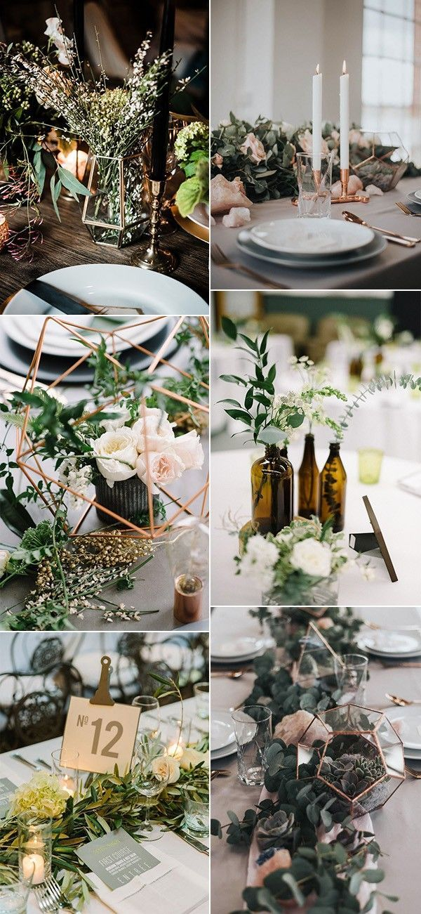 Trending 12 Industrial Wedding Centerpiece Ideas For 2018 Page 2