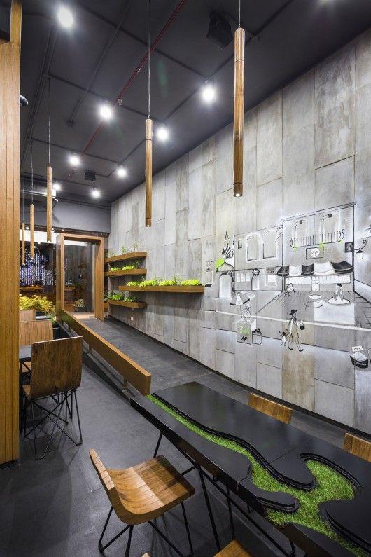 Aja Restaurant Arch Lab Restaurant Interior Design Restaurant Interior Bar Design Restaurant