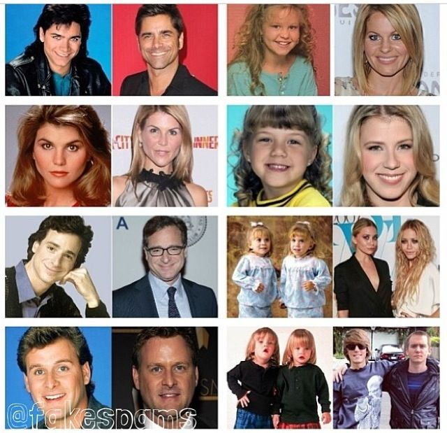 Full House Then And Now Full House Full House Actors Full House Funny
