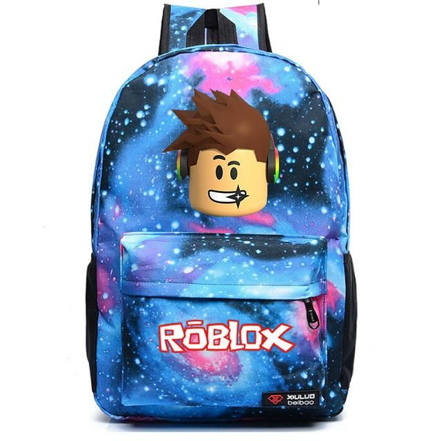 b30c44f42788 Roblox backpack meteor student school bag Notebook backpack Leisure Daily  backpack