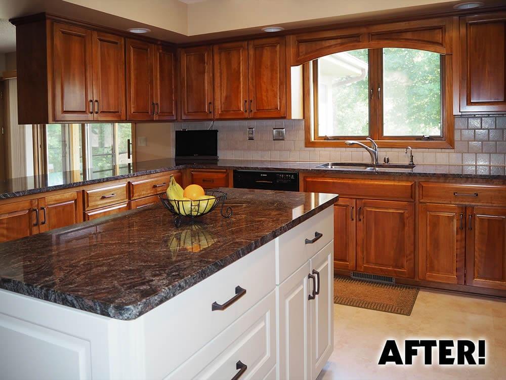 Jewel Cabinet Refacing Kitchen After, Estimate Of Refacing Kitchen Cabinets