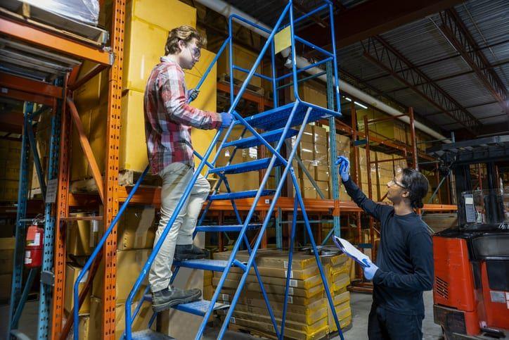 Ladder safety tips mobile ladders ladder safety