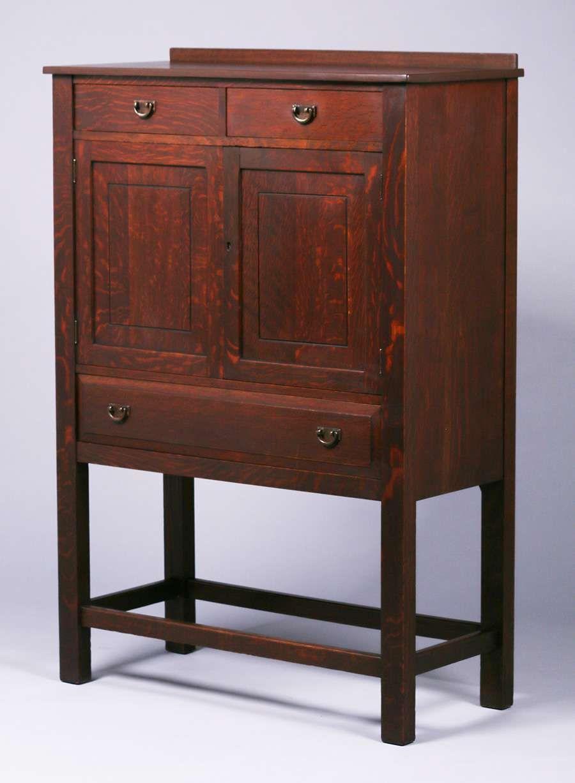 Lifetime Furniture Co Vice Cabinet C1910 Arts And Crafts Furniture Furniture Historical Design