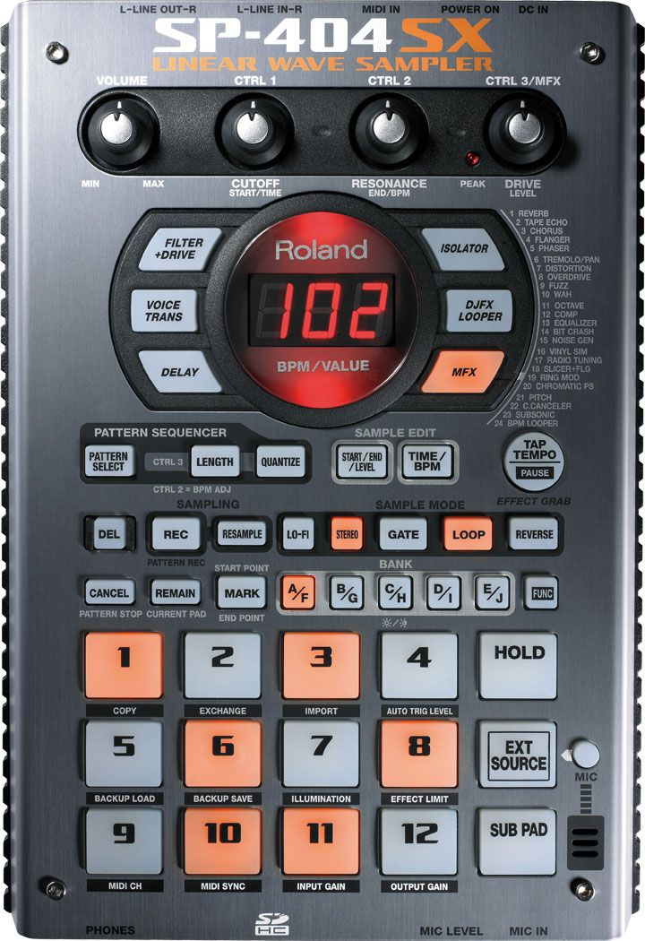 Roland sp-404sx portable sampler with effects | #149223715.