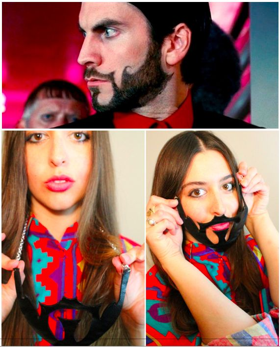 Hunger Games Beard Necklace Is Awesomely Creepy Con Imágenes