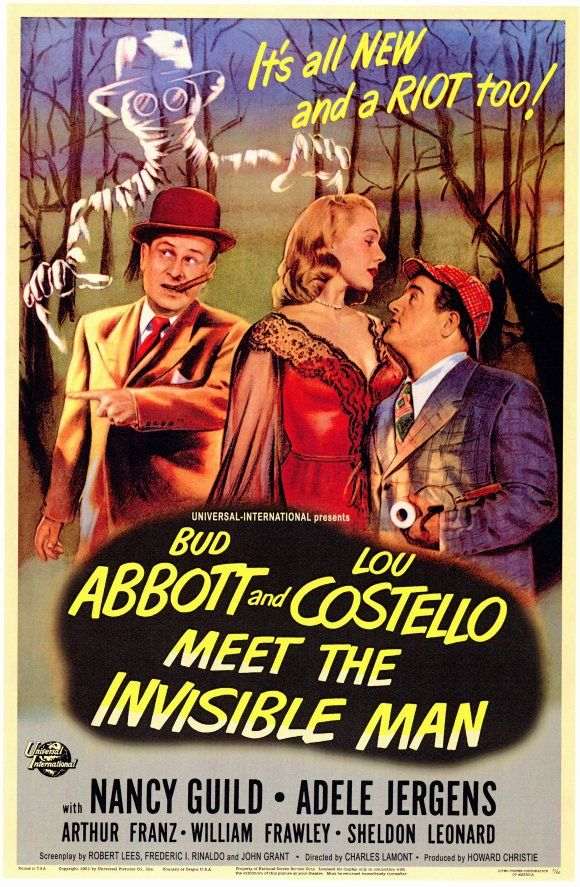 Abbott And Costello Meet The Invisible Man Charles Lamont 1951