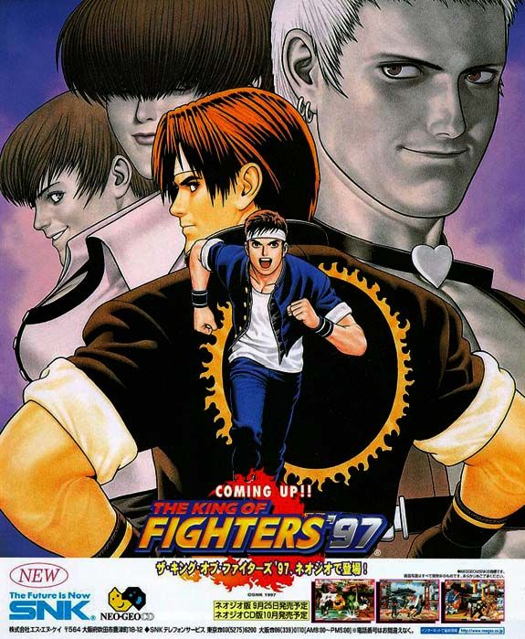 King Of Fighters, Fliperama E Game