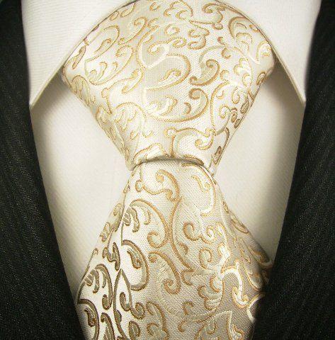 Neckties By Scott Allan, 100% Woven Khakii Floral Tie ...