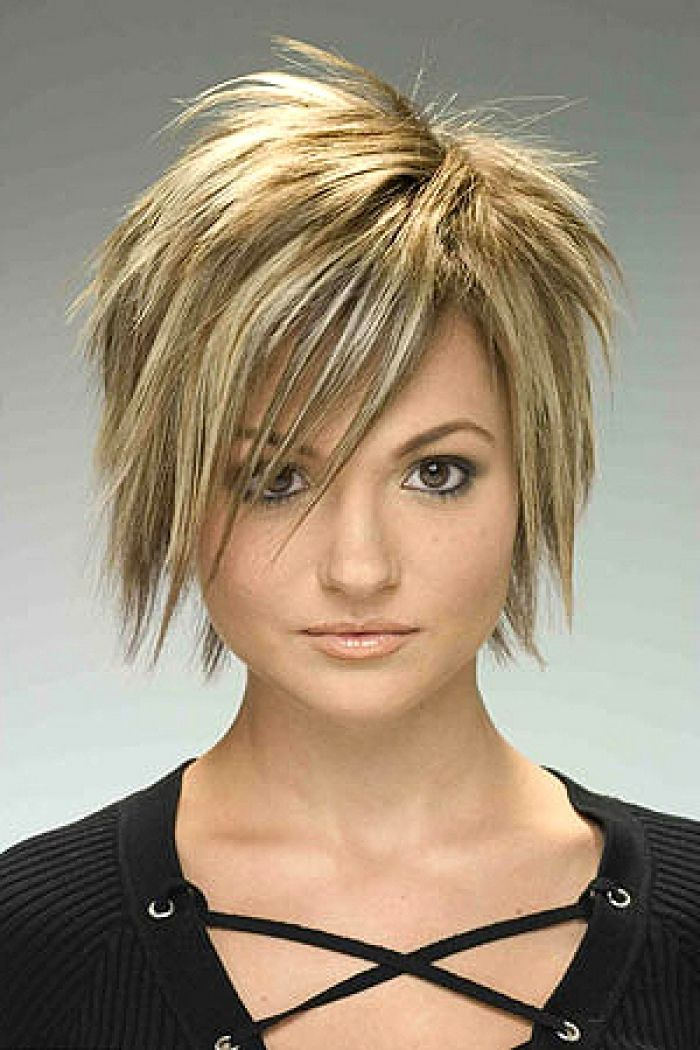 Pictures Of Short Funky Hairstyles For Women quick hairstyle ideas