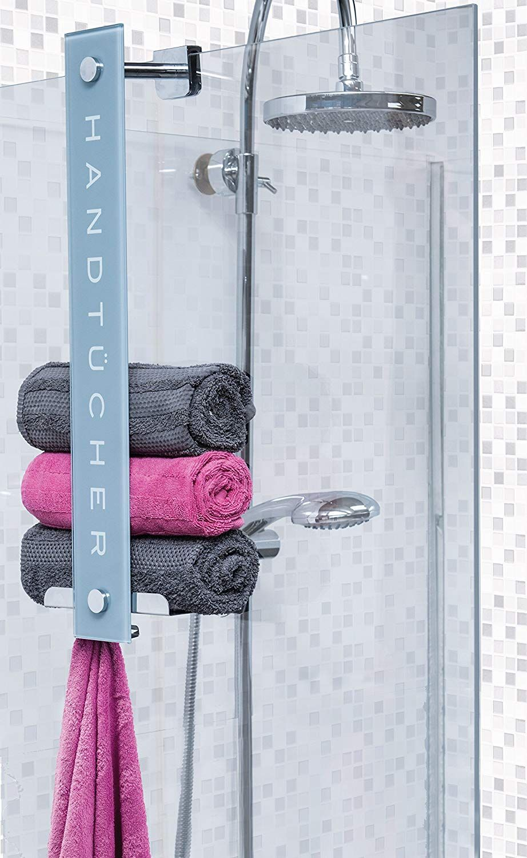 Cornat Design Glas Handtuchhalter Handtuchhalter