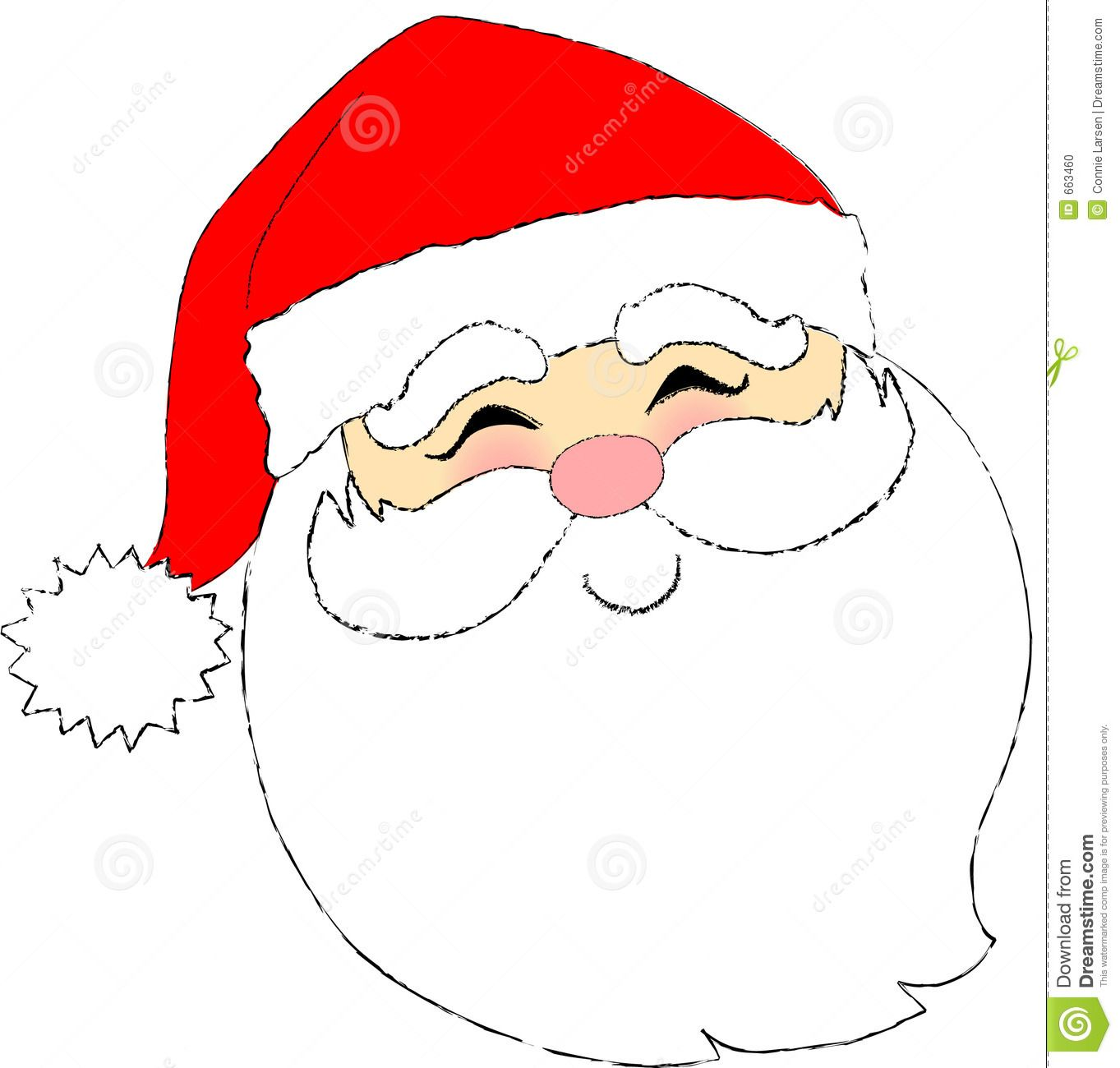 Cartoon Santa Claus Face Santa face, Santa claus