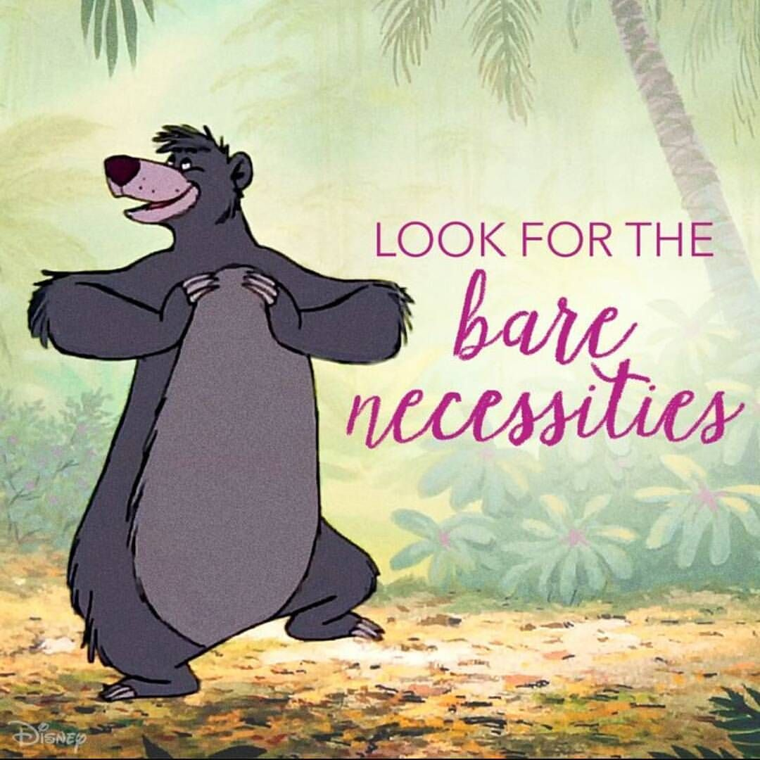 Jungle Book Quotes Jungle Book Junglebook Baloo Bear Sing Song Dance Laugh