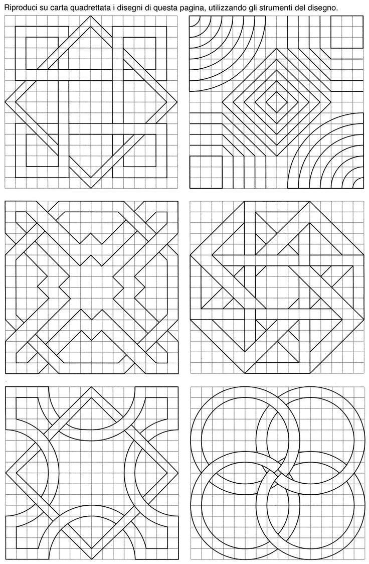 Pin Von Claudia Korn Auf Millimeterpapier In 2020 Geometrische Zeichnung Geometric Patterns Geometrisches Muster