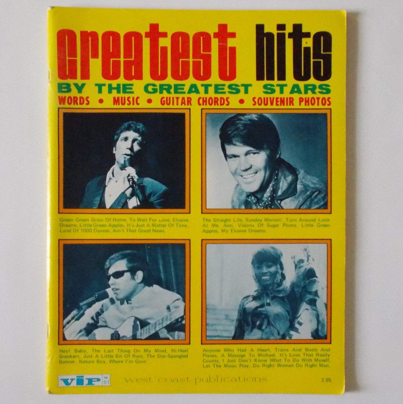 Greatest Hits By The Greatest Stars Songbook Lyrics Guitar Etsy Greatest Hits Greatful Guitar Chord Sheet
