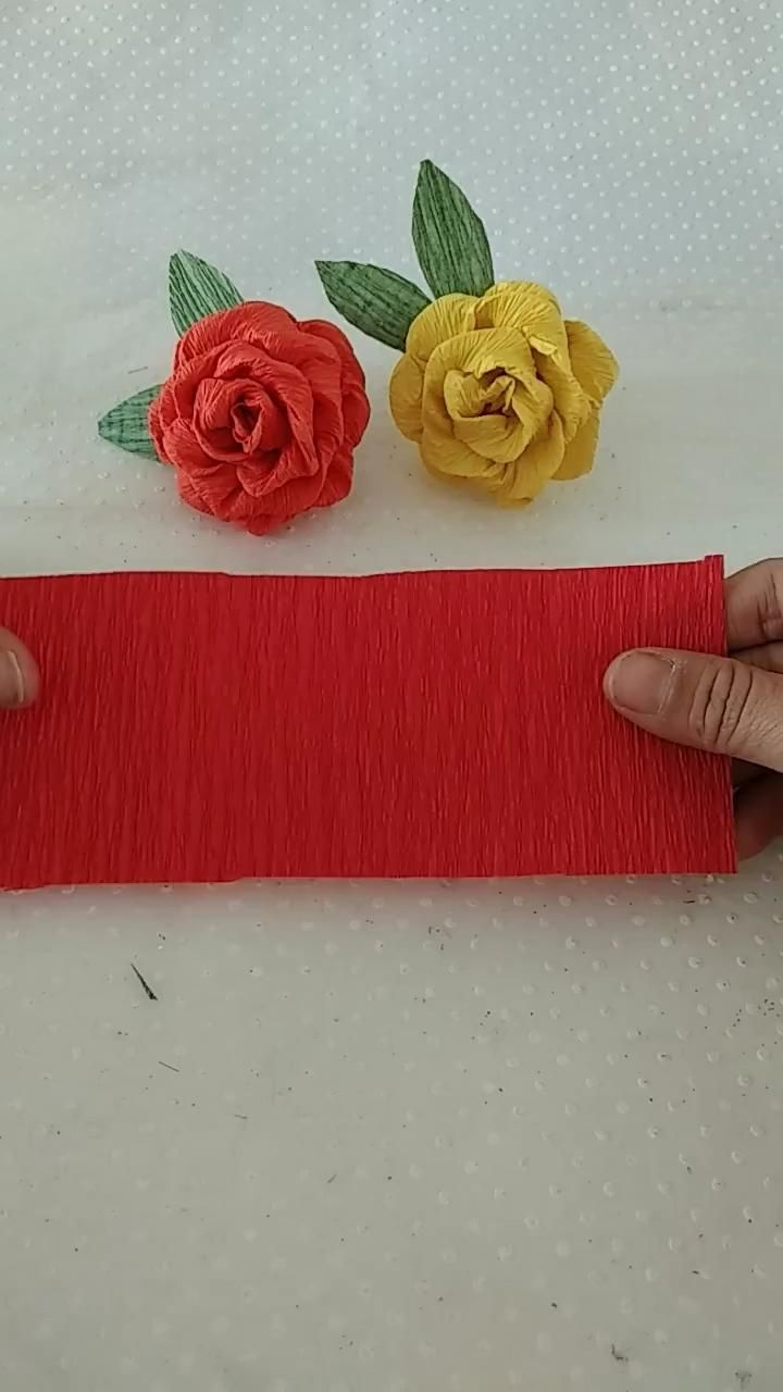 Faça você mesmo! Flores para o dia das mães #diadasmães #diy #dicas #artesanato #mothersday #flordecrepom #papelcrepom